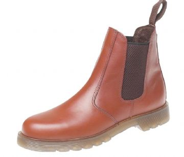 Amado Macario™ M573 Grafters Leather Dealer Boots. Cushioned PVC Sole